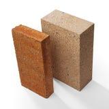 Special bricks, firebricks Stock Photography