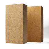 Special bricks, firebricks Royalty Free Stock Photo