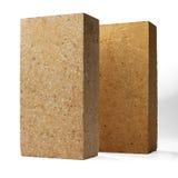 Special bricks, firebricks Royalty Free Stock Photo