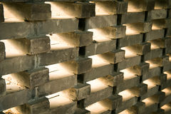 Special bricks wall Stock Images