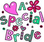 A Special Bride Stock Photography