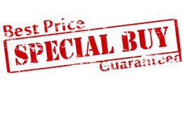 Special buy. Rubber stamp with text special buy inside,  illustration Royalty Free Stock Photography