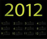 Special calendar Stock Photography