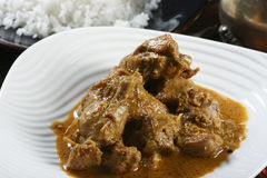 A Special chicken curry from Kerala Stock Photo