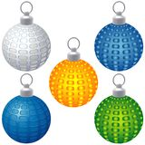 Special Christmas Balls Royalty Free Stock Photography