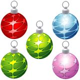 Special Christmas Balls Royalty Free Stock Photos