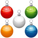 Special Christmas Balls Royalty Free Stock Photo