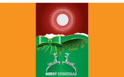 Special Christmas brochure design Royalty Free Stock Images