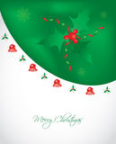 Special Christmas card Stock Photography