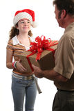 Special Christmas Delivery Royalty Free Stock Images