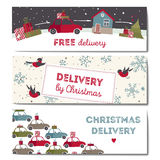 Special christmas delivery vector Illustration Royalty Free Stock Photos