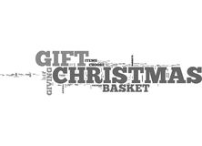 A Special Christmas Gift Word Cloud Stock Photos