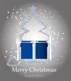 Special christmas menu Royalty Free Stock Image