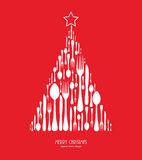 Special christmas menu Royalty Free Stock Images