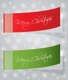 Special Christmas stickers Stock Photography