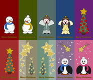 Special christmas tags Royalty Free Stock Images