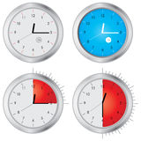Special clock Royalty Free Stock Image