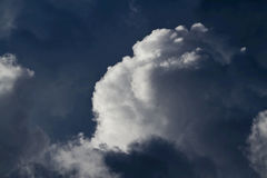 Special clouds. In the sky Royalty Free Stock Image