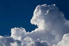 Special clouds. In the sky Stock Images