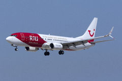 Special colors TUI of Germany 737 Stock Photography