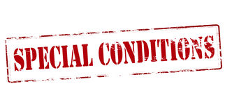 Special conditions Royalty Free Stock Images