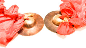 Special Copper. It is made of copper,It can be used to produce sound Royalty Free Stock Images