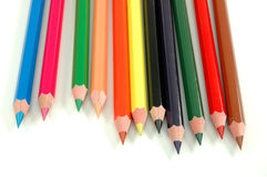 Special crayons stock photo
