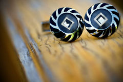 Special cufflinks Stock Images