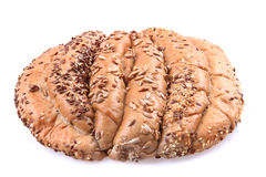 Special czech bread isolated Royalty Free Stock Images