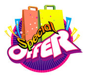 special d'offre Image stock