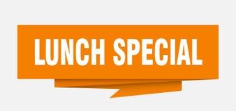 Special de déjeuner illustration stock