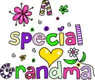 special de grand-maman Image libre de droits