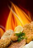 Special de Kebab Fotografia de Stock Royalty Free