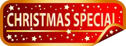 Special de la Navidad del botón rojo Imagenes de archivo