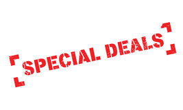 Special Deals rubber stamp Stock Photo