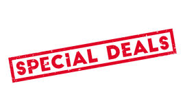 Special Deals rubber stamp Stock Photography