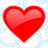 Special del corazón para el día de tarjeta del día de San Valentín ilustración del vector