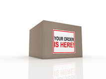 Special delivery important Royalty Free Stock Photography