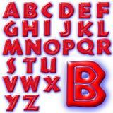 Special design för abcalfabet Royaltyfri Foto