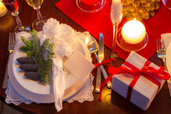 Special dinner for Christmas Eve Stock Image