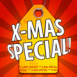 Special do Xmas Fotografia de Stock Royalty Free