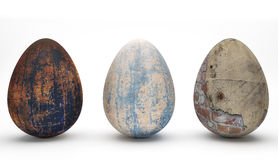 Special Easter Eggs II Stock Image