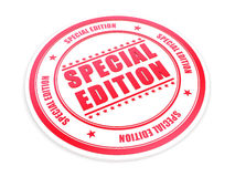 Special Edition. 3D Special Edition red stamp vector illustration