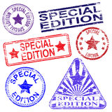 Special Edition Stamps Stock Image