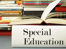 Special educational needs - Book Stock Image