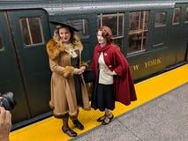 Nostalgia Train stock image