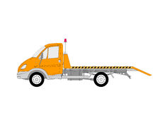 Special evacuation lkw truck vector Stock Images