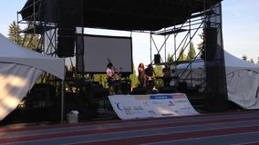Special event with relay for life concert Royalty Free Stock Images