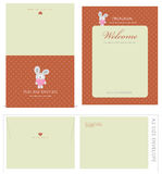 Special Event Templates and Envelope Royalty Free Stock Image