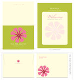 Special Event Templates and Envelope Stock Photo